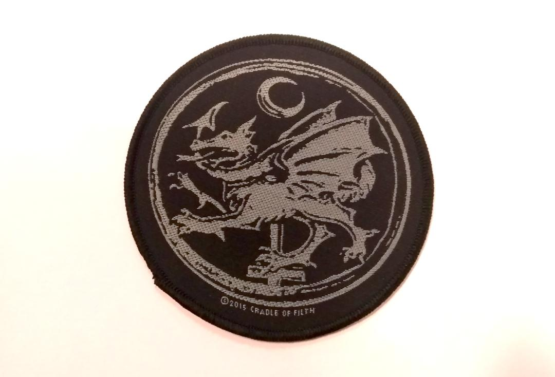 Official Band Merch | Cradle Of Filth - Order Of The Dragon Woven Patch
