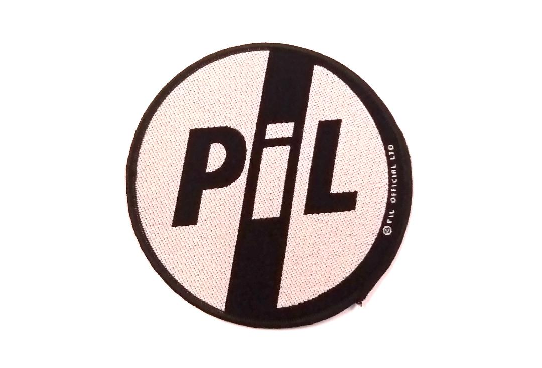 Official Band Merch | PIL - Logo Woven Patch