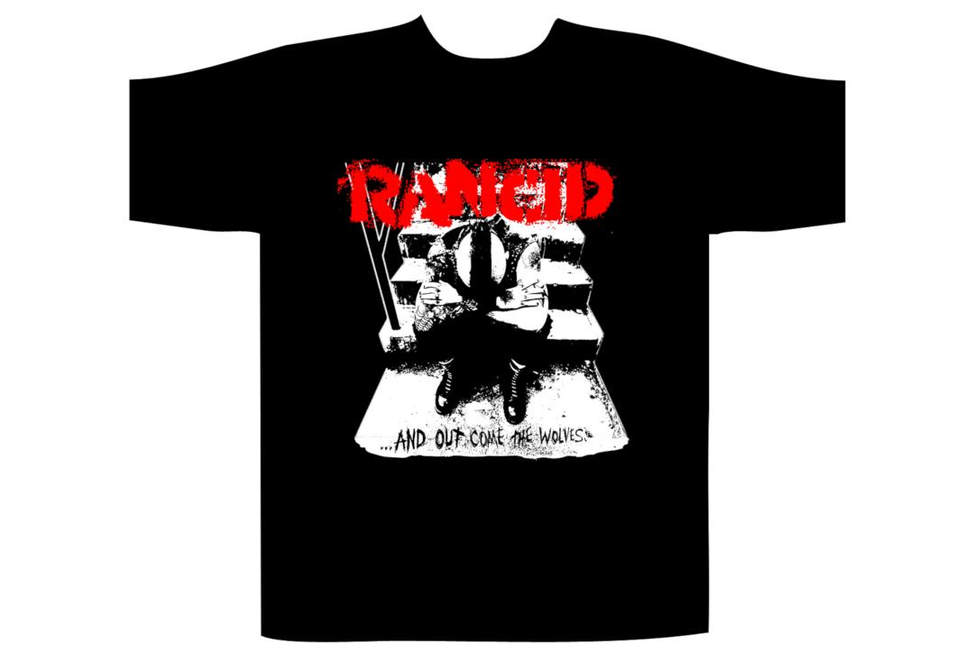 Official Band Merch | Rancid - Wolves Men's Short Sleeve T-Shirt