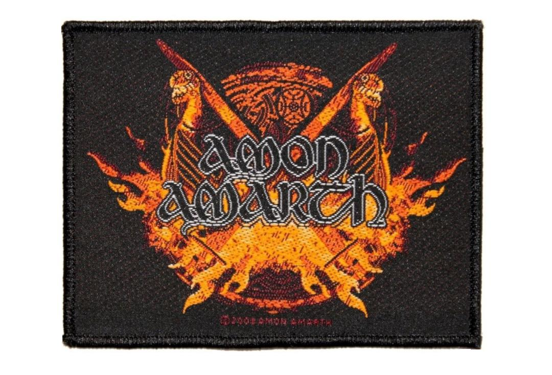 Official Band Merch | Amon Amarth - Viking Horde Woven Patch