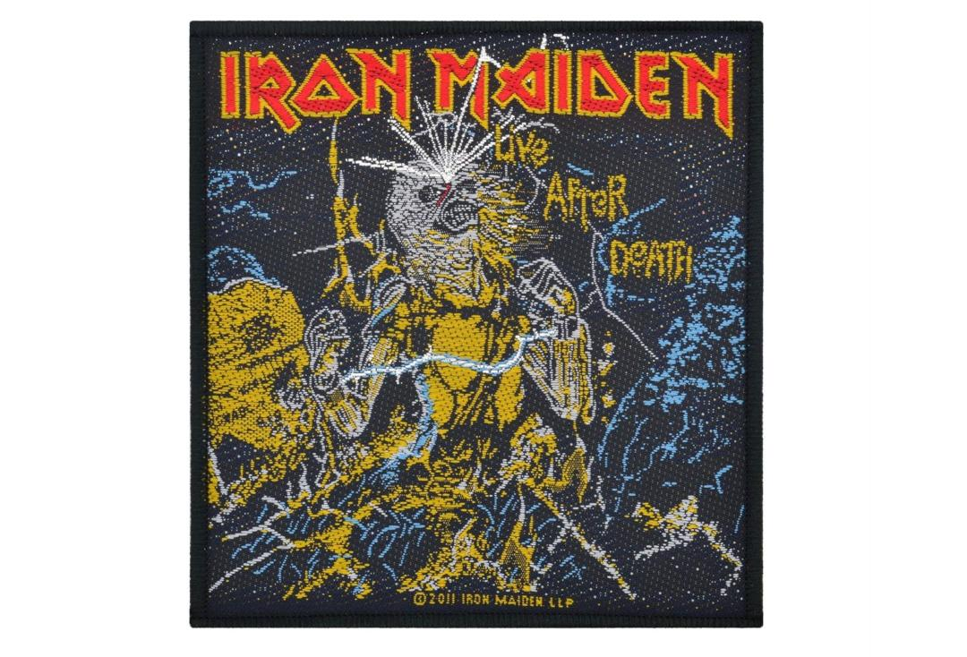 Official Band Merch | Iron Maiden - Live After Death Woven Patch