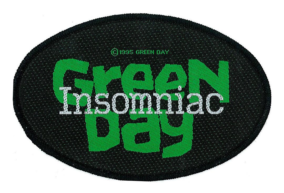Official Band Merch | Green Day - Insomniac Woven Patch