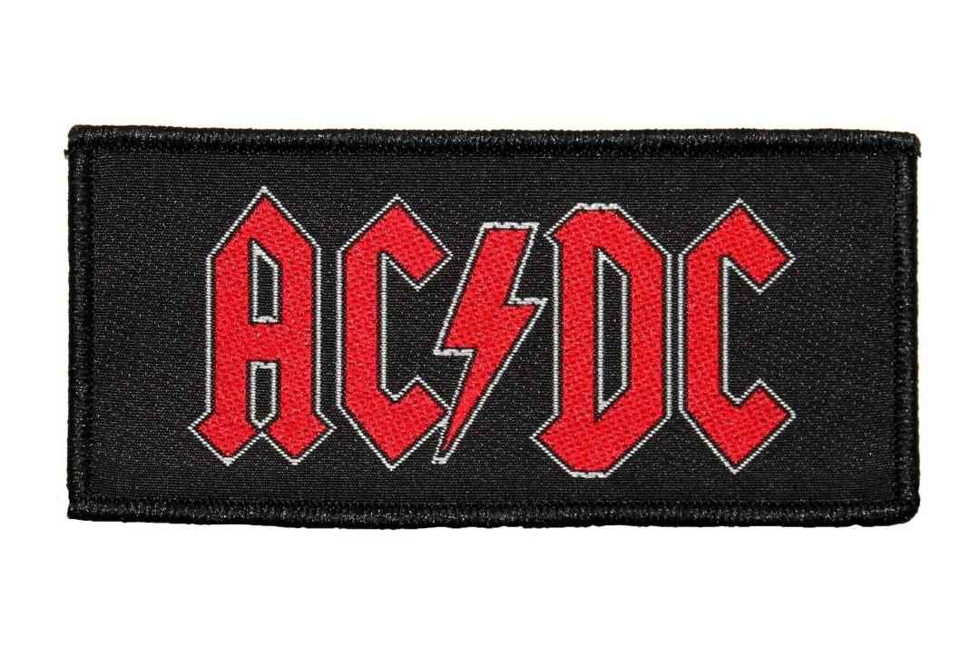Official Band Merch | AC/DC - Logo Woven Patch