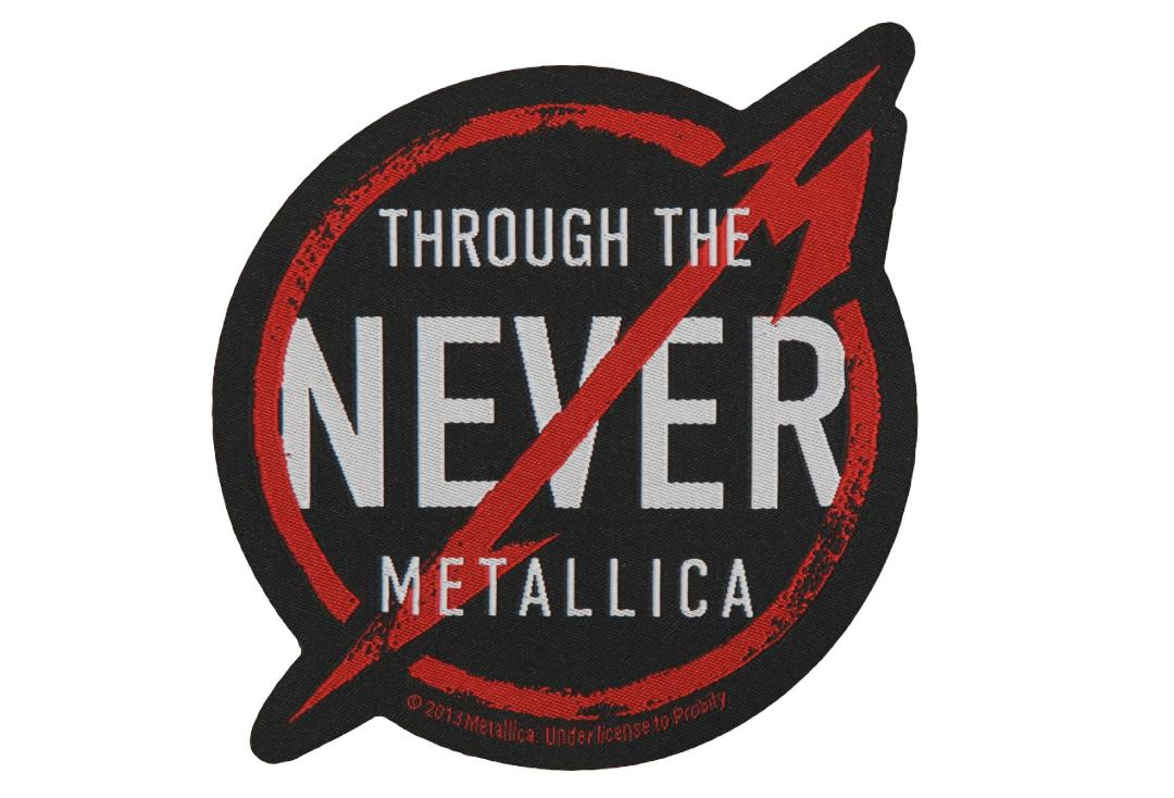 Official Band Merch | Metallica - Through The Never Woven Patch