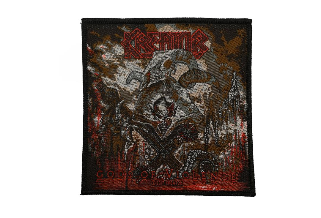 Official Band Merch | Kreator - Gods Of Violence Woven Patch