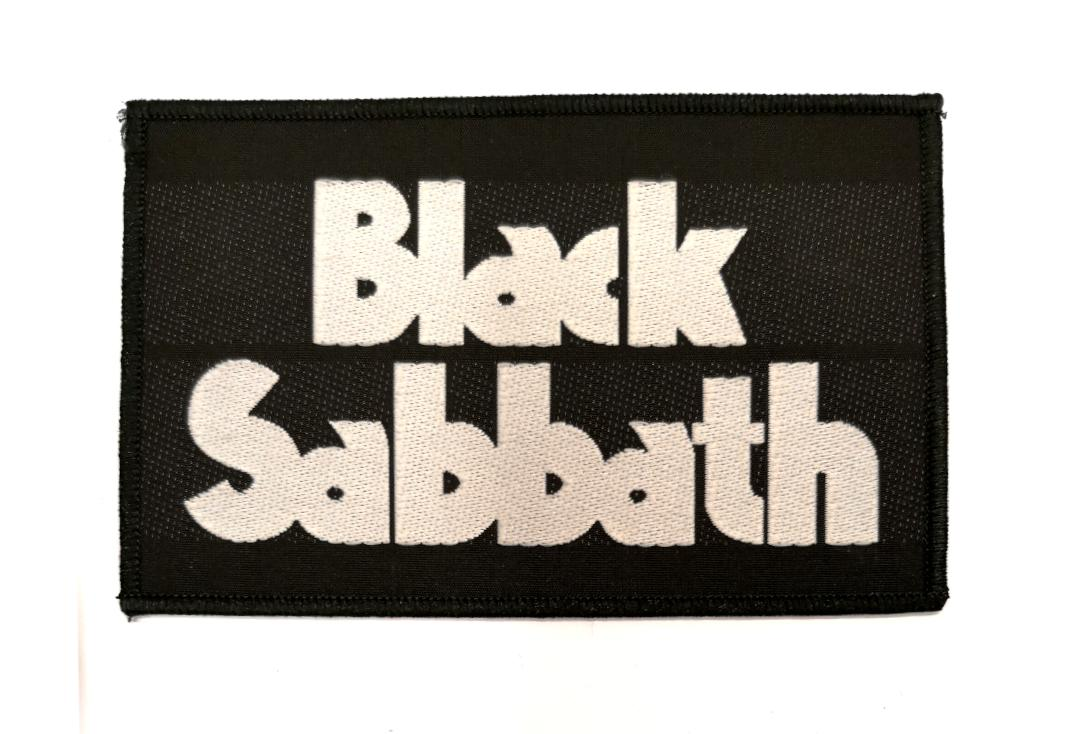 Official Band Merch | Black Sabbath - Logo Woven Patch