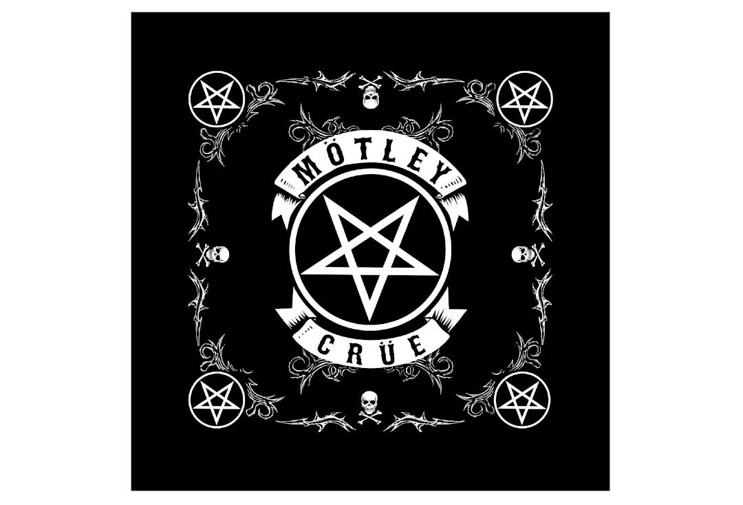Official Band Merch | Motley Crue - Pentagram Official Bandana