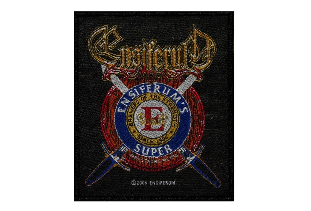 Official Band Merch | Ensiferum - Super Crest Woven Patch