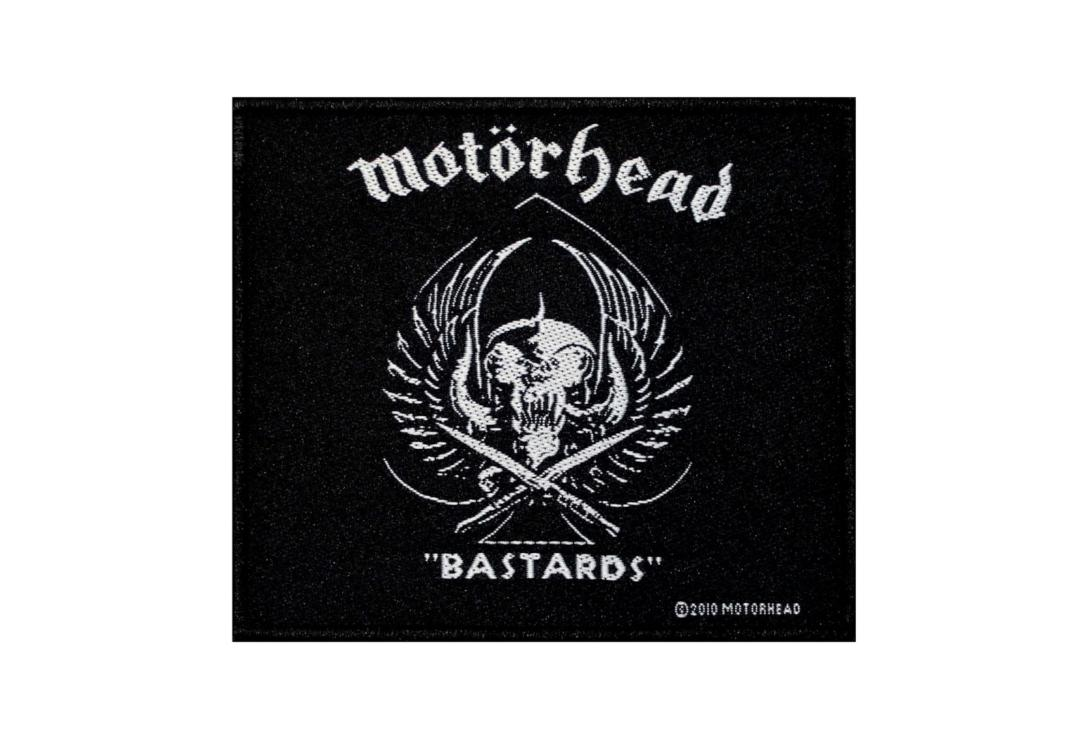 Official Band Merch | Motorhead - Bastards Woven Patch
