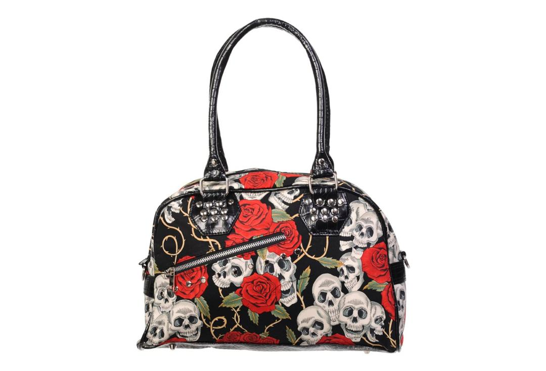 Banned Apparel | Skull Roses Handbag