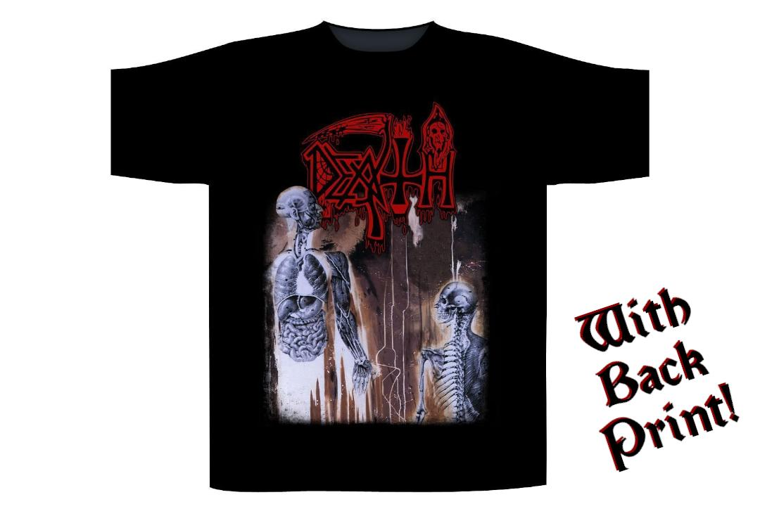 Official Band Merch | Death - Human Men's Short Sleeve T-Shirt - Front