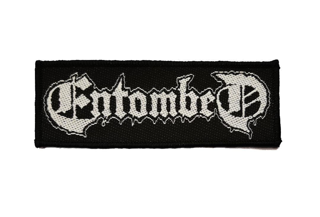 Official Band Merch | Entombed - Logo Woven Patch