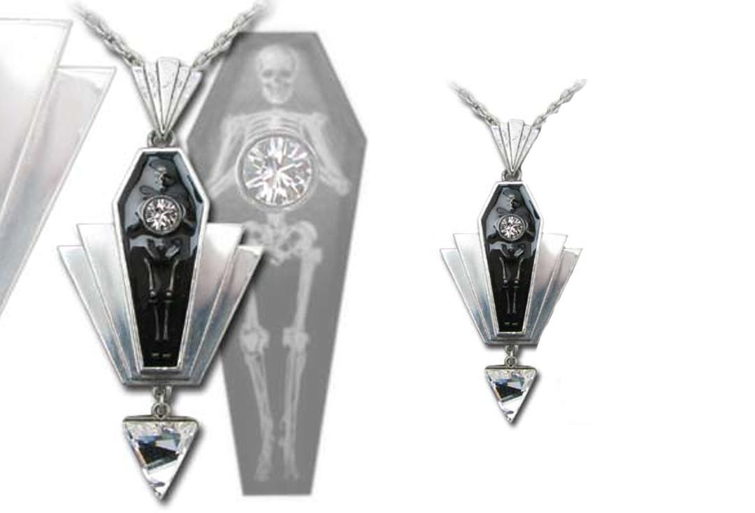 Alchemy Gothic | Coco Casket Jewels Necklace