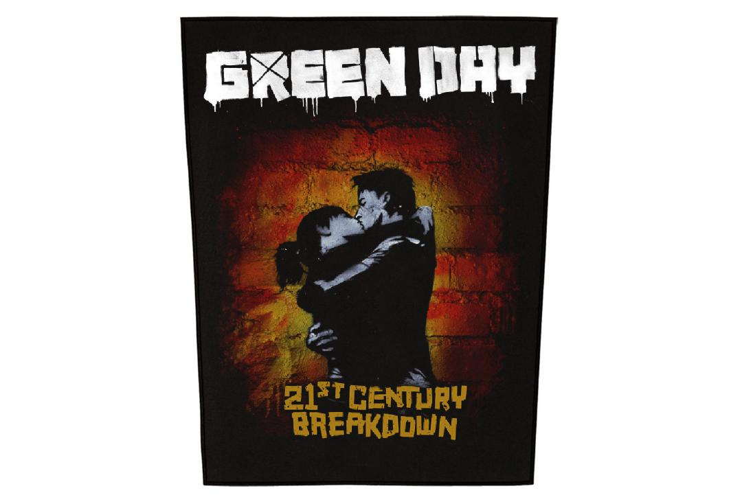 Official Band Merch | Green Day - 21st Century Breakdown Printed Back Patch