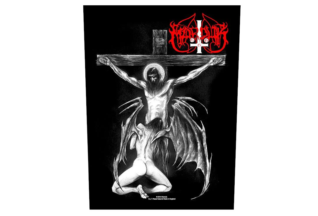 Official Band Merch | Marduk - Christ Raping Printed Back Patch