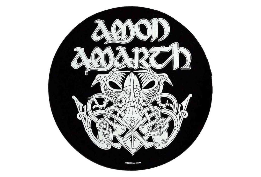 Official Band Merch | Amon Amarth - Odin Printed Back Patch