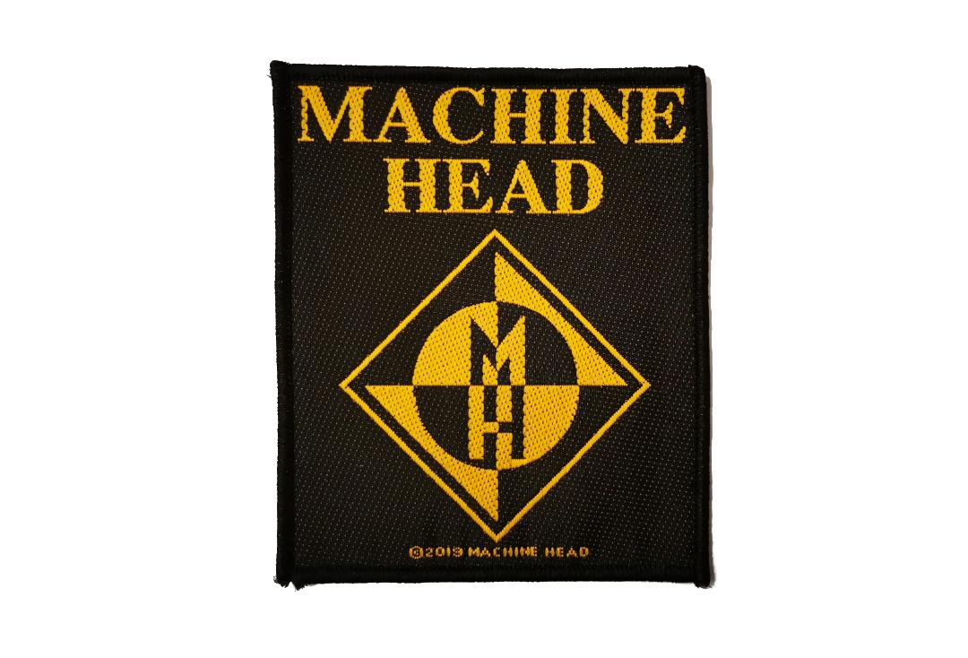Official Band Merch | Machine Head - Diamond Logo Woven Patch