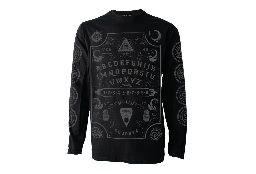 Darkside Clothing | Ouija Board Long Sleeve Men's T-Shirt