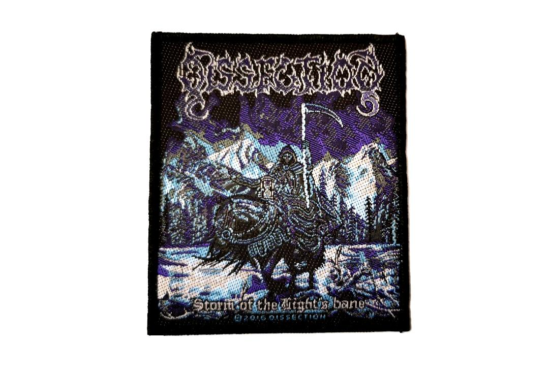 Official Band Merch | Dissection - Storm Of The Light's Bane (Re-Issue) Woven Patch