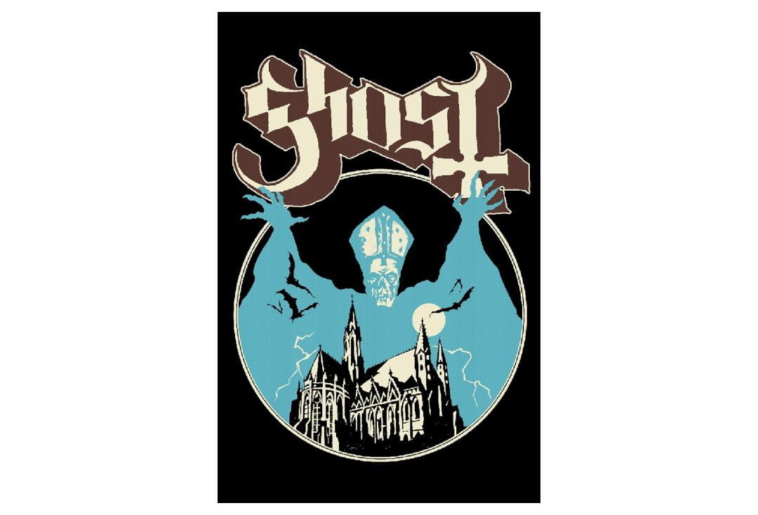 Official Band Merch | Ghost - Opus Eponymous Printed Textile Poster