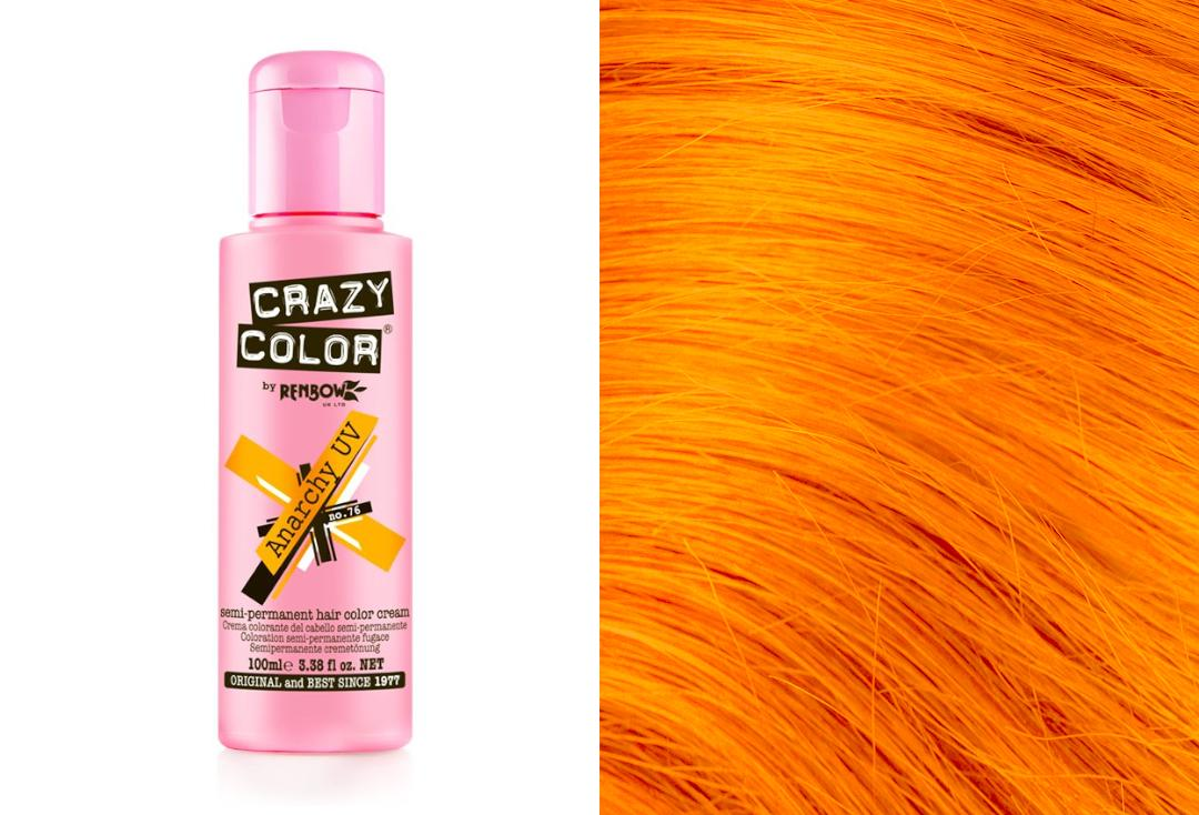 Renbow | Crazy Color Semi-Permanent Hair Colour (076 Anarchy UV)