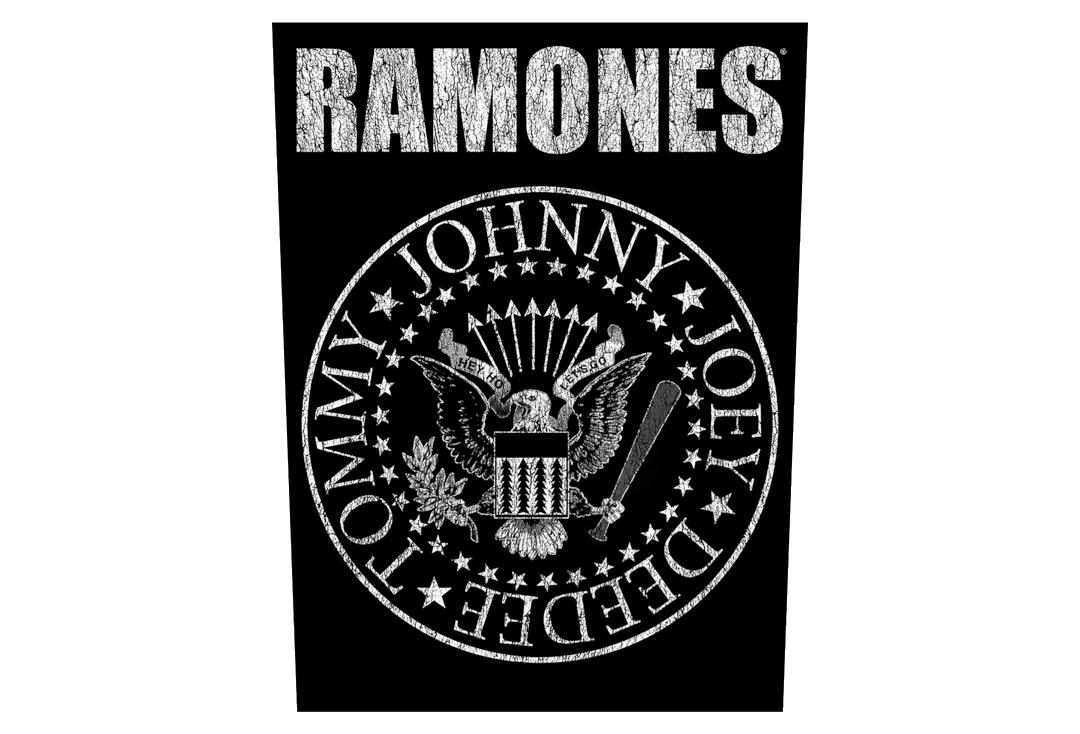 Official Band Merch | Ramones - Classic Seal Printed Back Patch