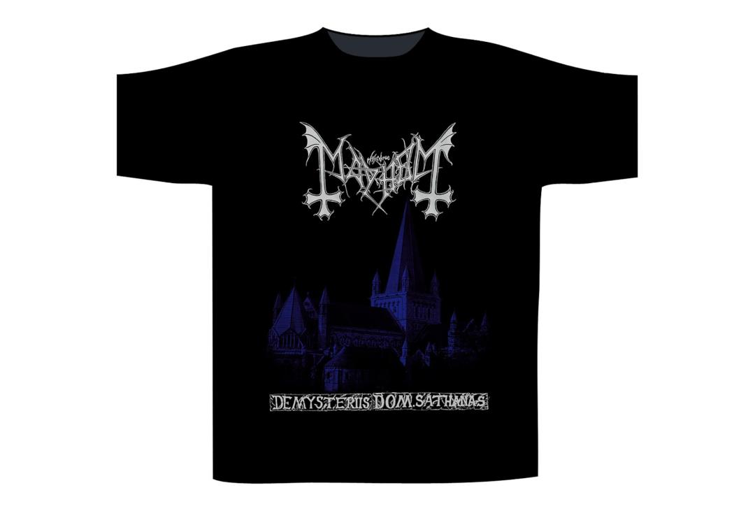 Official Band Merch | Mayhem - De Mysteriis Dom Sathanas Men's Short Sleeve T-Shirt