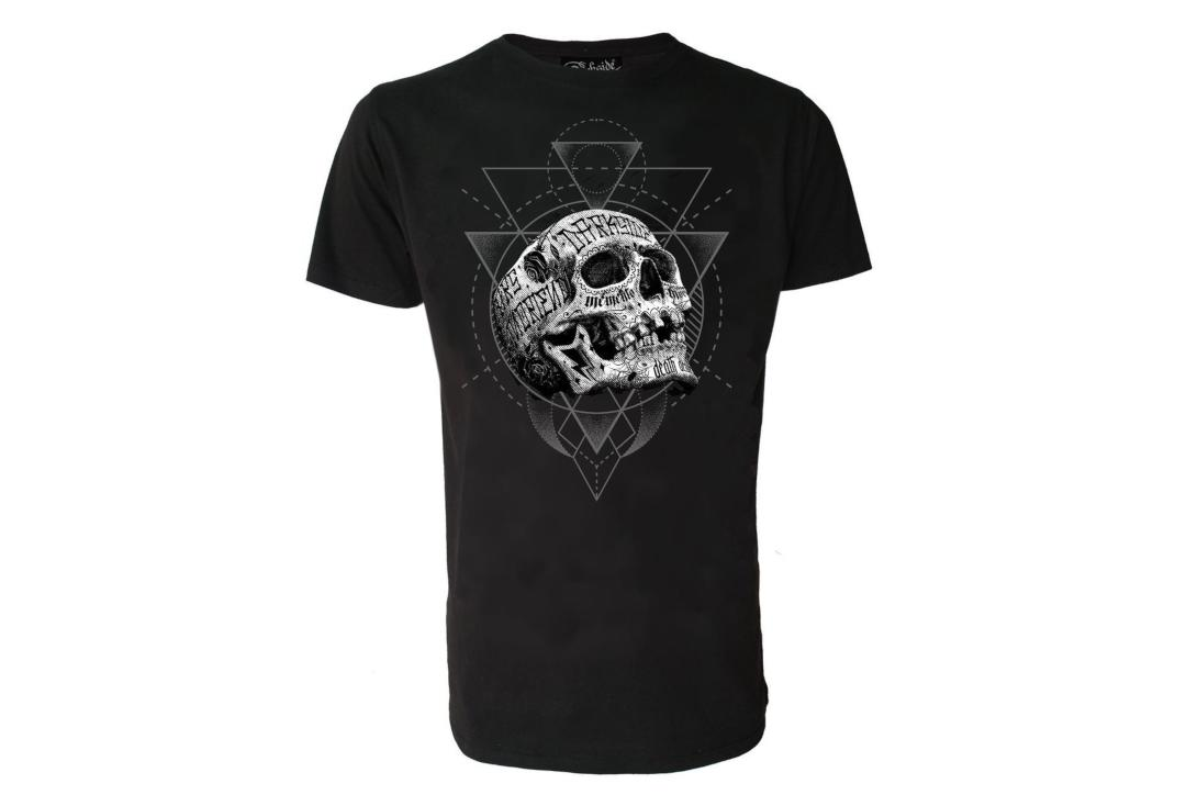 Darkside Clothing | Inked Skull Short Sleeve Men's T-Shirt