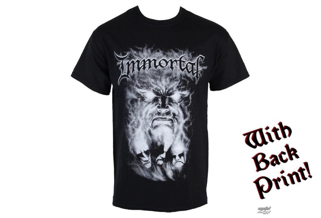 Official Band Merch | Immortal - Unholy Forces Of Evil Men's Short Sleeve T-Shirt - Front