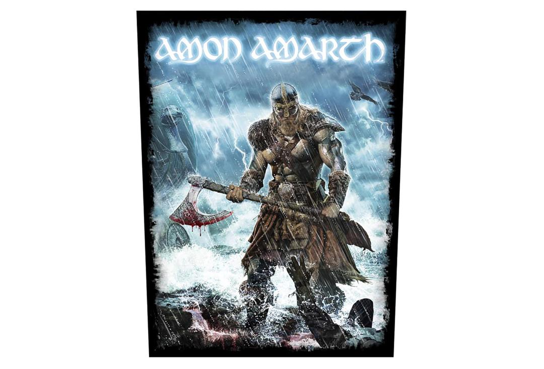 Official Band Merch | Amon Amarth - Jomsviking Printed Back Patch