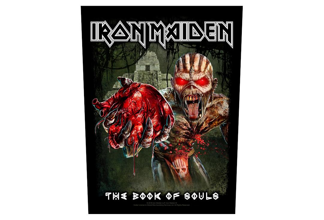 Official Band Merch | Iron Maiden - Eddies Heart Printed Back Patch