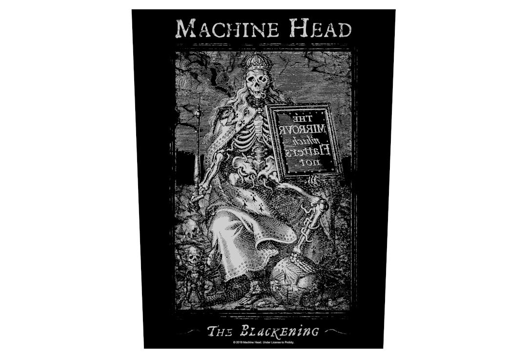 Official Band Merch | Machine Head - The Blackening Printed Back Patch