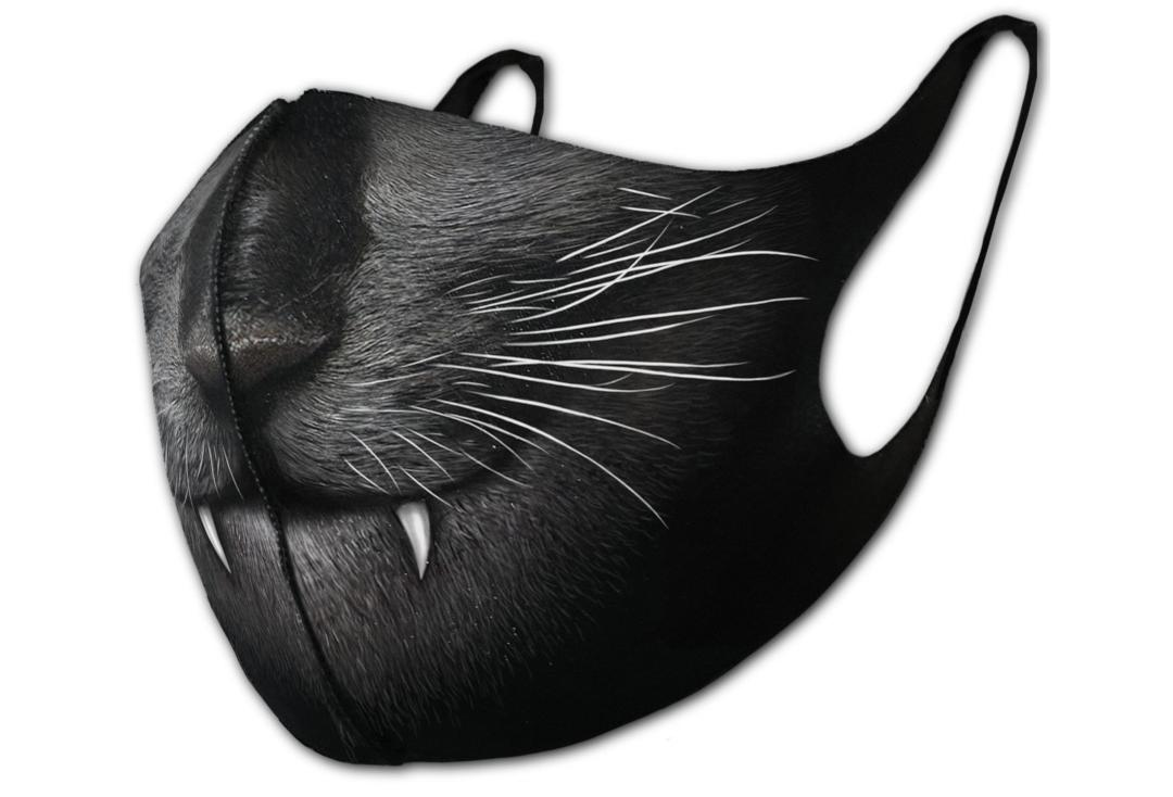 Spiral Direct | Cat Fangs Protective Face Mask - Close