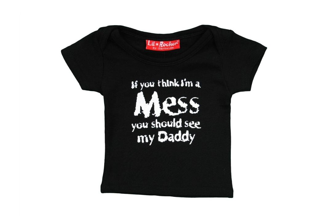 Darkside | I'm A Mess Baby Tee