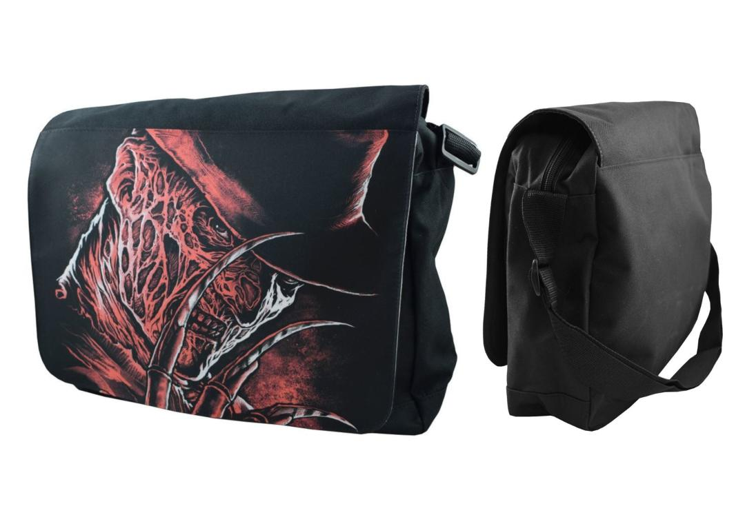 Darkside Clothing | Freddy Messenger Bag - Front & Side