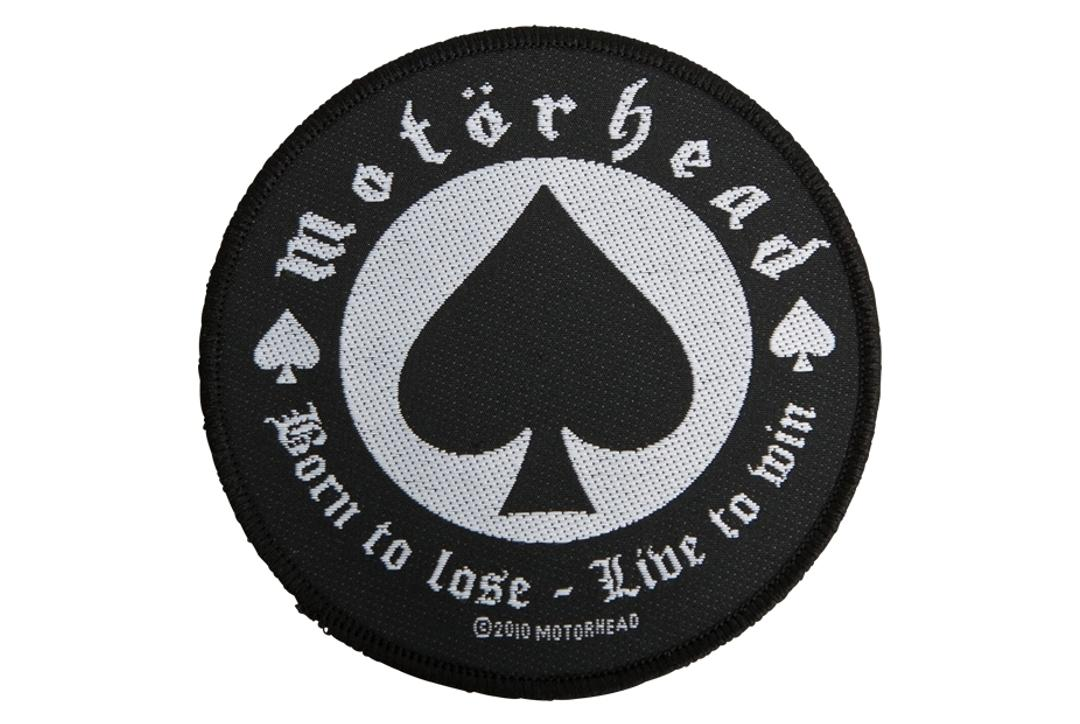 Official Band Merch | Motorhead - Born To Lose Woven Patch