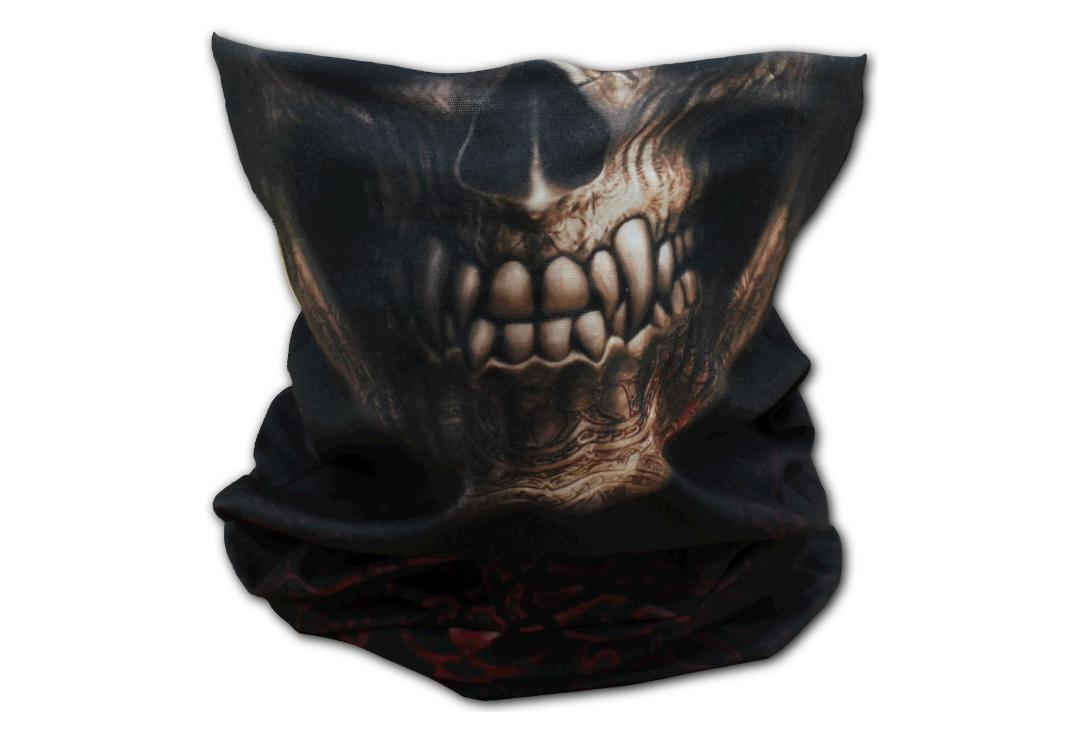 Spiral Direct | Goth Skull 13-in-1 Snood - Main