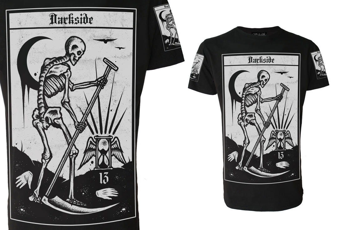Darkside | Death Tarot Men's Short Sleeve T-Shirt