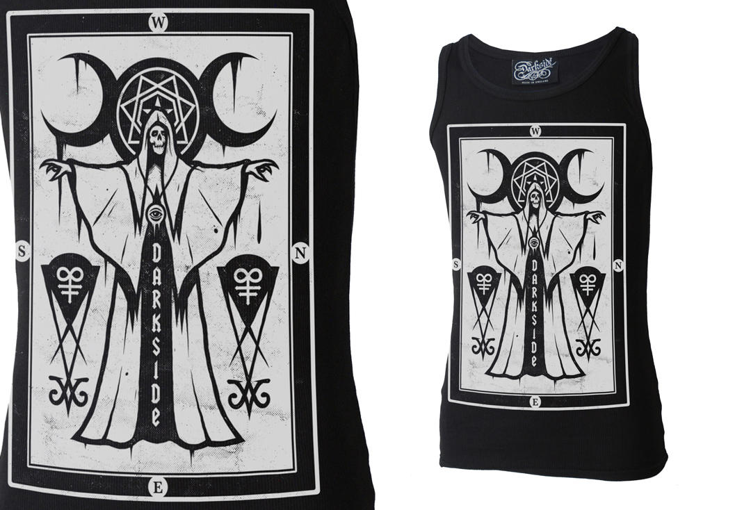 Darkside | Cult Priest Unisex Beater Vest