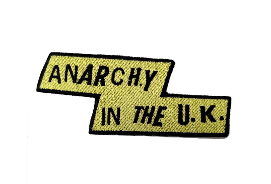 Official Band Merch | Sex Pistols - Yellow Anarchy Woven Patch