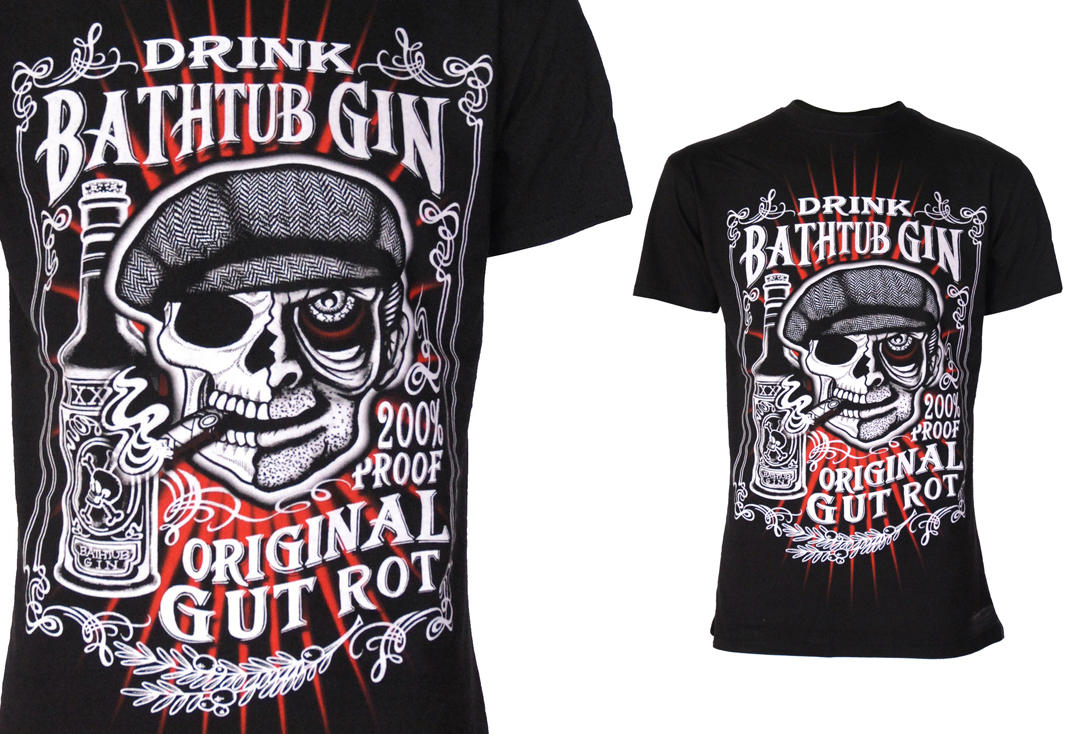 Darkside | Bathtub Gin Short Sleeve Men's T-Shirt