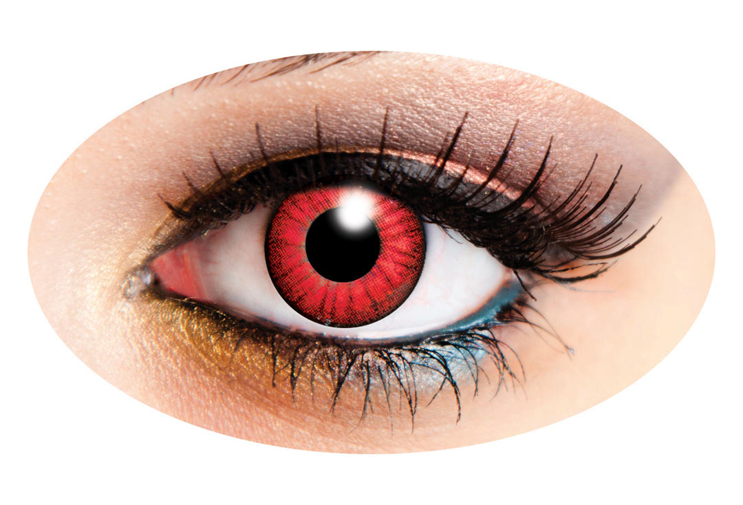 Innovision | Electro Red 90 Day Contact Lenses
