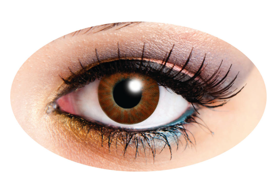 Innovision | Tri-Tone Brown 90 Day Contact Lenses