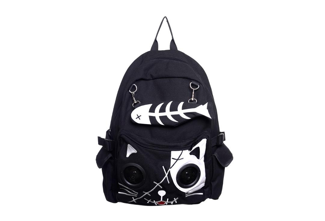 Banned | White Kitty Speaker Bag