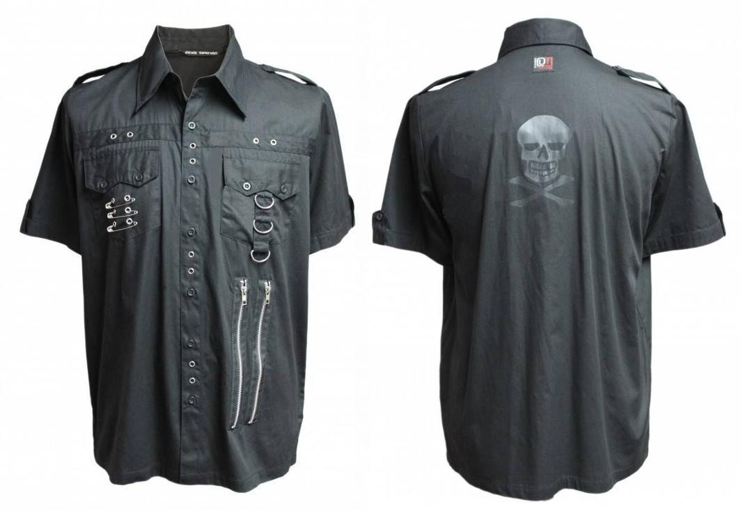 Dead Threads | Skull Print 9911 Short Sleeve Shirt