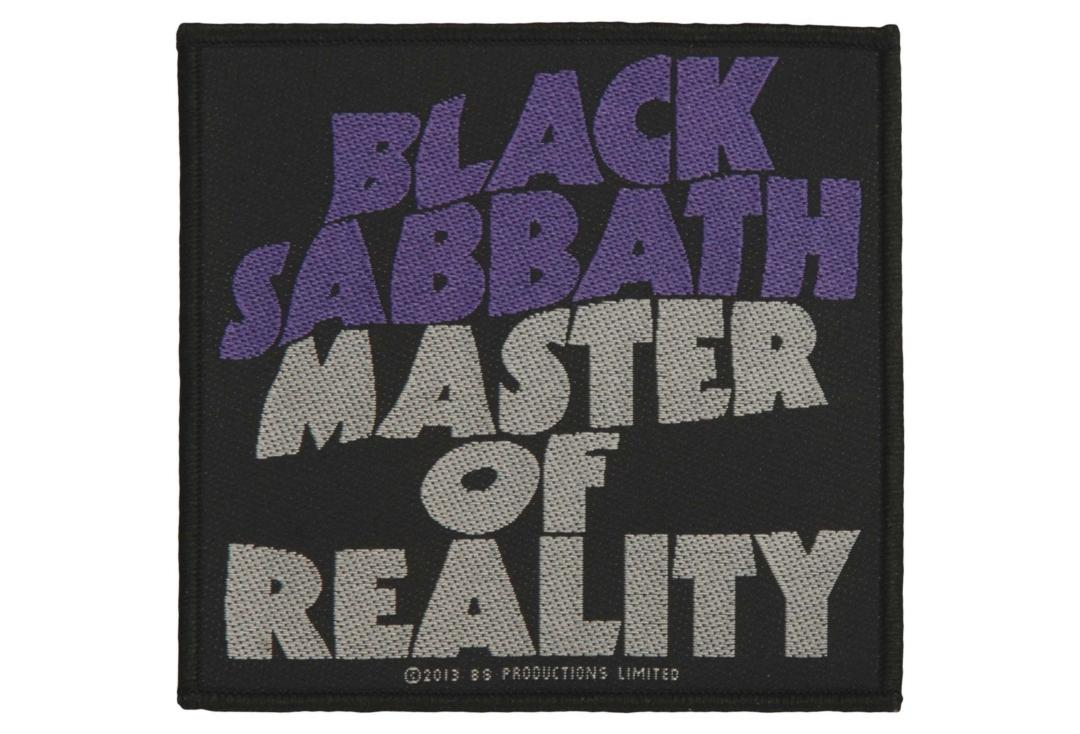 Official Band Merch | Black Sabbath - Masters Of Reality Woven Patch