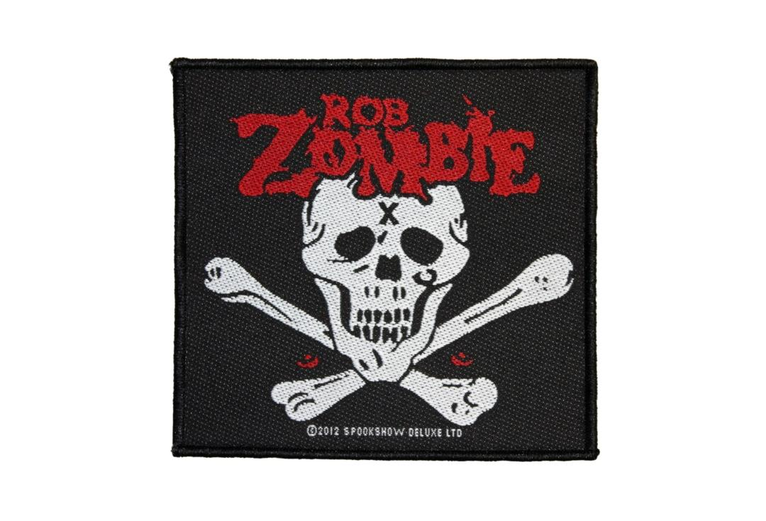 Official Band Merch | Rob Zombie - Dead Return Woven Patch