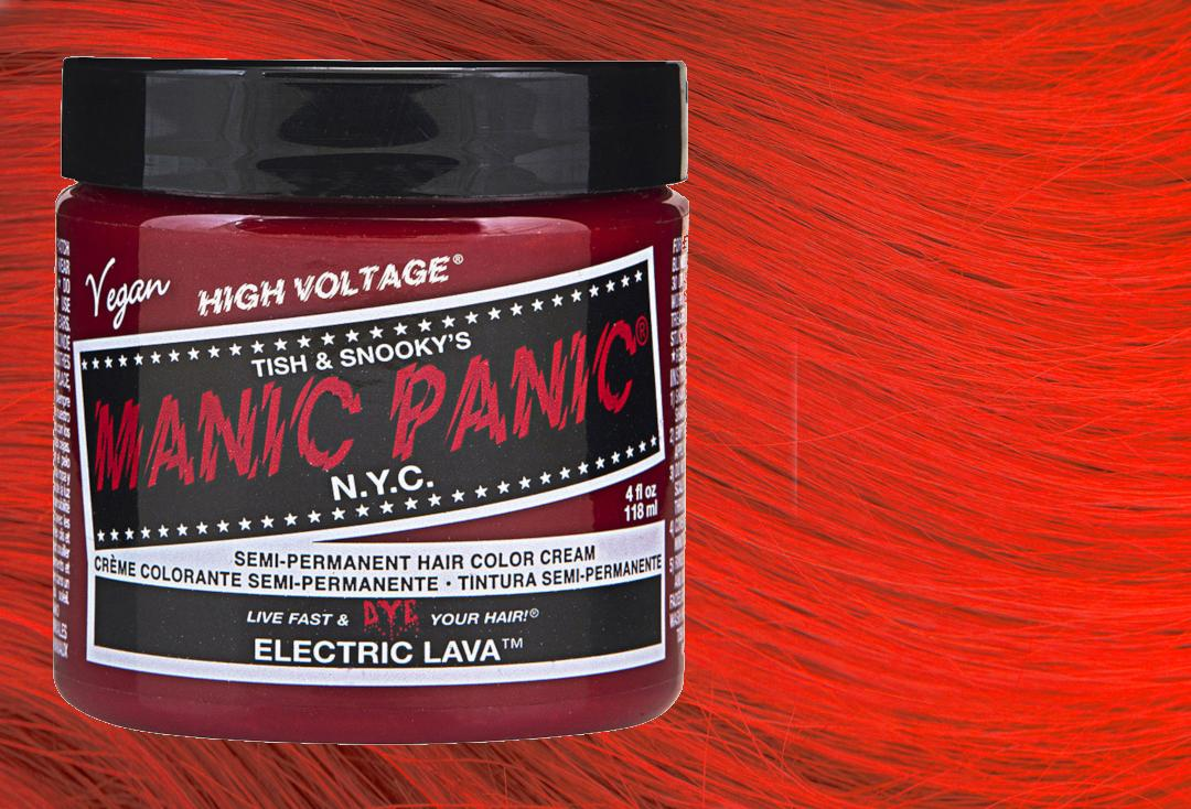Manic Panic | Electric Lava High Voltage Classic Cream Hair Colour