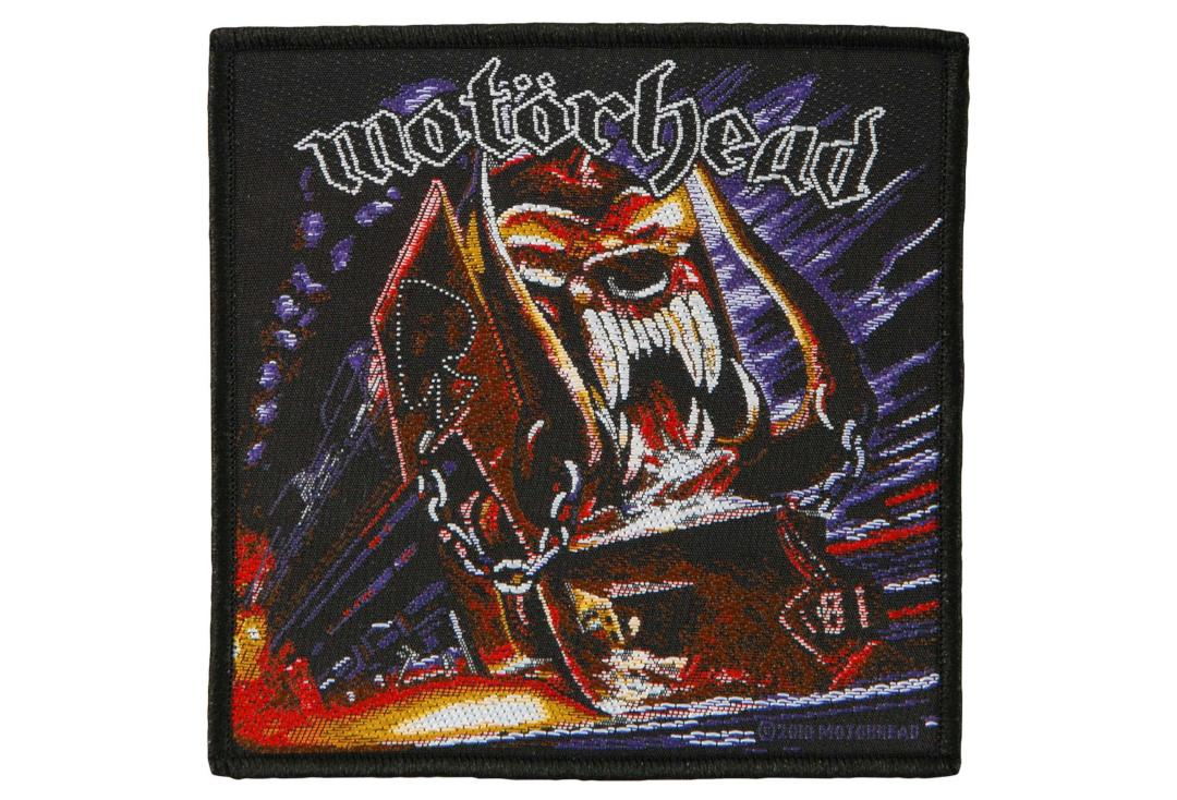 Official Band Merch | Motorhead - Orgasmatron Woven Patch