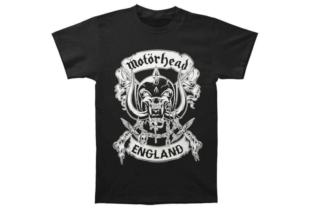 Official Band Merch | Motorhead - Crossed Swords Men's Short Sleeve T-Shirt - Front View